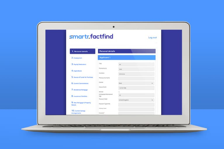 capricorn app smartr factfind